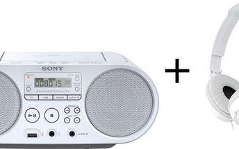 Sony ZS-PS50 + sluchátka MDR-ZX110W