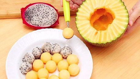 Nástroj na vyřezávání ovoce - zelená - dodání do 2 dnů