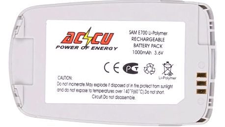 Accu baterie za Samsung BST2058RE BST2058SE 1000mAh Li-Pol