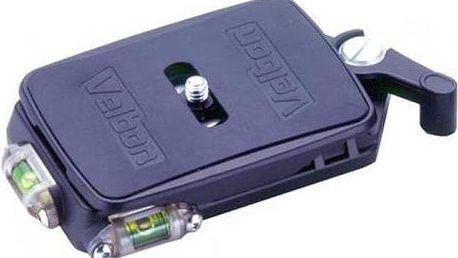 Příslušenství pro fotoaparáty Velbon QB-667L(B) pro QRA-667, QHD-72Q černé