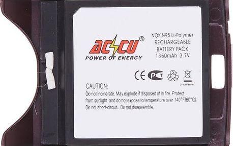 Accu baterie za Nokia BL-5F 1350mAh Li-Pol včetně zadního krytu