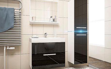 Luxusní koupelna PLAY 6 bily/cerny
