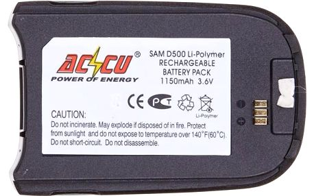 Accu baterie za Samsung BST3078BE1150mAh Li-Pol