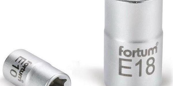 """Fortum (4700703) hlavice nástrčná vnitřní TORX, 1/2"""", E 18, L 38mm, 61CrV5"""