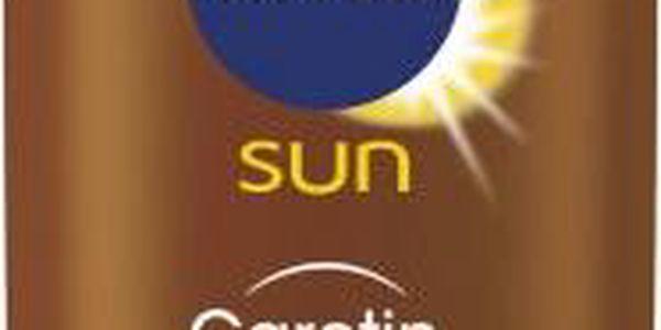 Nivea Sun Mléko na opalování s Betakarotenem SPF 6 200ml + Nivea Sprchový gel Waterlily & Oil 250 ml