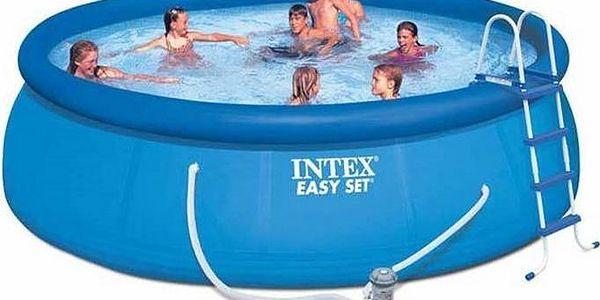 Rodinný bazén Intex 4,57x1,22 m včetně kompletního příslušenství!