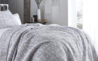 Přehoz přes postel Bianca Simplicity Grey, 200x200 cm - doprava zdarma!