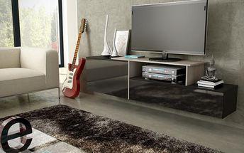 Závěsná komoda pod televizor/rádio SIGMA 3D