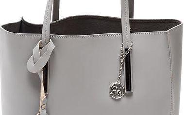 Kožená kabelka Isabella Rhea 3020 Grigio - doprava zdarma!