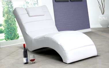 Luxusní křeslo FLORYDA white
