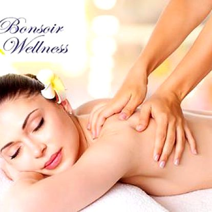 66% sleva na manuální lymfodrenáž nebo 59% sleva na anticelulitidovou masáž v salonu Bonsoir Wellness