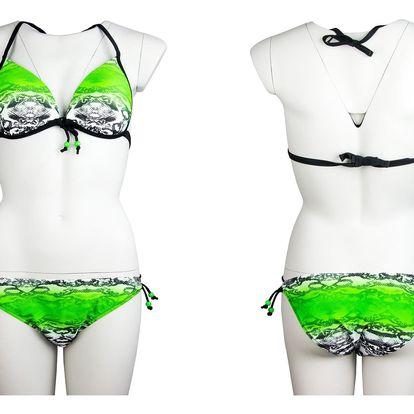 Dámské plavky Summer Lux Snake vzor hadí kůže