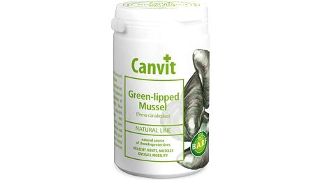 Prášek Canvit Natural Line Green-lipped Mussel plv 180g
