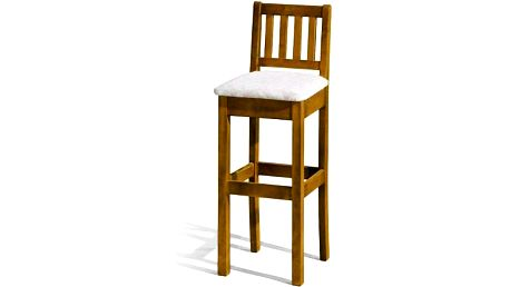Barová židle H-1 Sedátko čalouněné