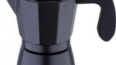 Konvice na espresso, 6 šálků, černá BERGNER SG-3516