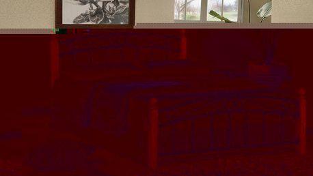 POSTEL VERONA VČETNĚ ROŠTU HOMETRADE 180 x 200 cm