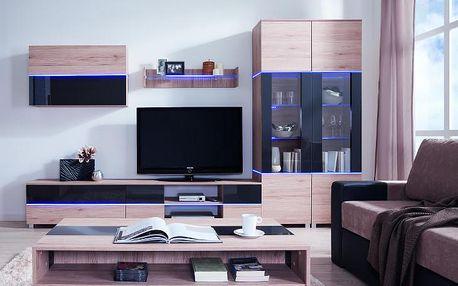 Moderní obývací stěna ADEN - sestava 1