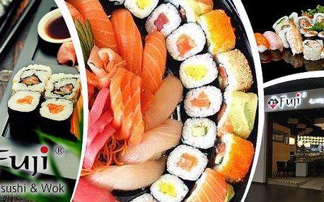 Kupon na slevu:Running Sushi - All You Can Eat včetně grilování přímo na Vašem stole! Navštivte restauraci Fuji a během 3 hodin hodujte a ochutnávejte dle libosti cokoliv, co Vám na běžícím pásu padne do oka! Sushi, saláty, ovoce, dezerty a navíc maso a