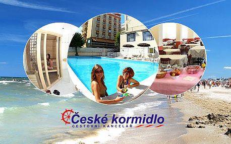 ★ 8–10denní Itálie (Emilia Romagna) ★ Dvě děti ZDARMA ★ Hotel Plaza*** ★ Plná penze ★ 50 m písečná pláž ★ Bazén ★ Doprava -50 %