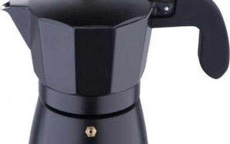 Konvice na espresso, 3 šálky, černá BERGNER SG-3515