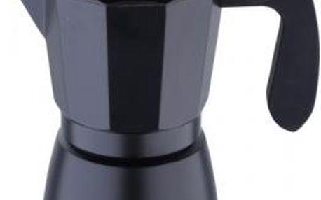 Konvice na espresso, 9 šálků, černá BERGNER SG-3517
