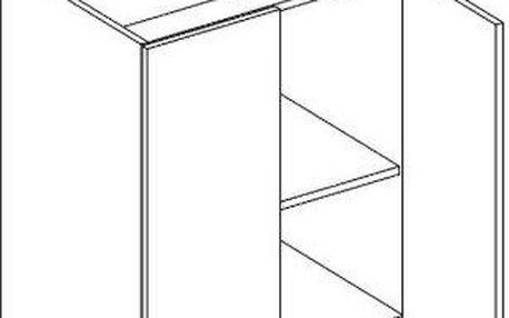 Skříňka dolní D60 - Lungo