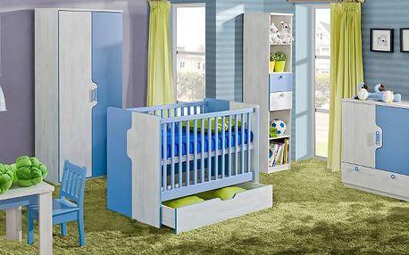 Dětský pokoj pro miminko NUKI Sestava 5