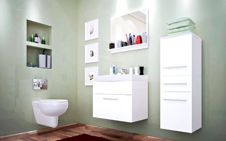 Bílá koupelna TIPO MINI 2