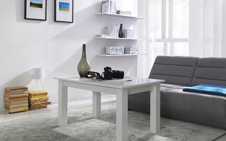 Konferenční stolek T22 bílý lesk