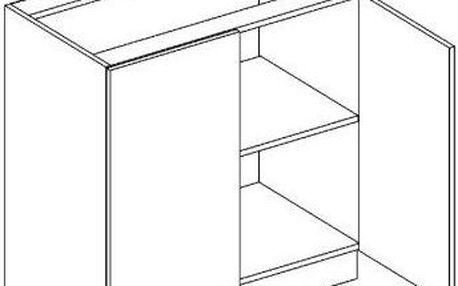 Skříňka dolní D80 - Lungo
