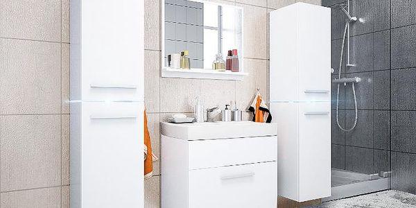 Luxusní koupelna JUMP 3 bily/bily