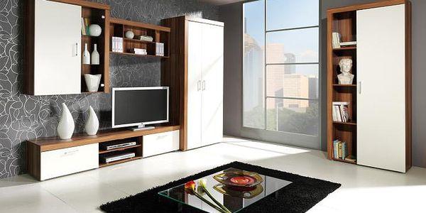 Systémový nábytek do obývacího pokoje SAMBA 4 bílý