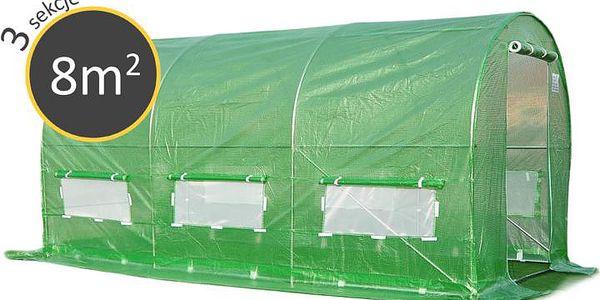 Zahradní foliovník 2x4x2 8m2 green