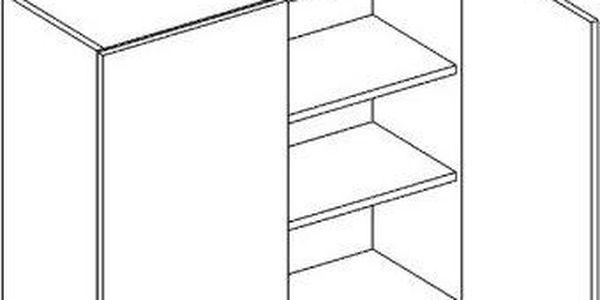 Skříňka horní W80 - Blanka