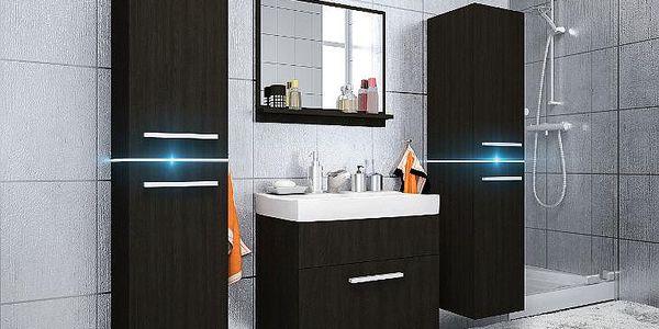 Moderní koupelna JUMP 1 wenge/wenge