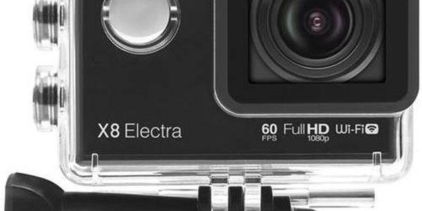 Outdoorová kamera Lamax Action X8 Electra černá + Doprava zdarma