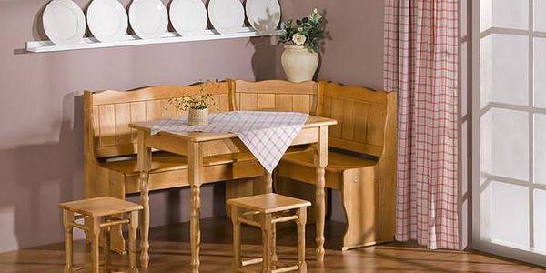 Kuchyňská rohová lavice NK6