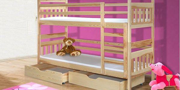 Patrová postel BRUNO
