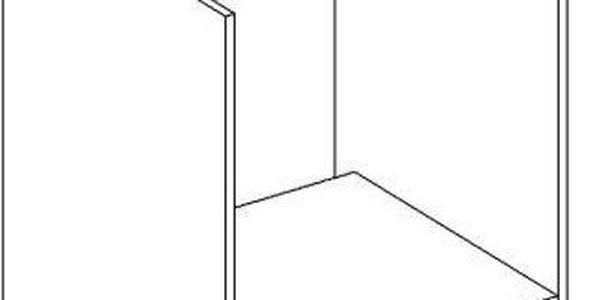 Skříňka dolní DK60 - Moreno cocobolo