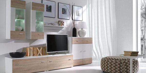 Stylový nábytek do obývacího pokoje WENECJA Sestava 3