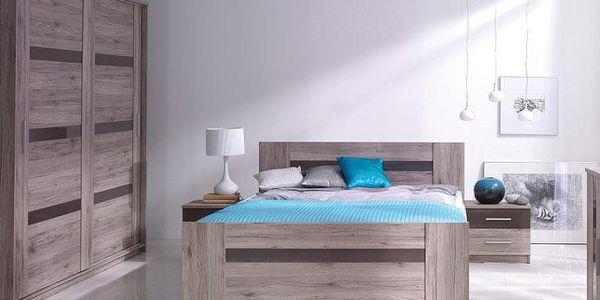 Elegantní nábytek do ložnice ORLANDO Sestava 7
