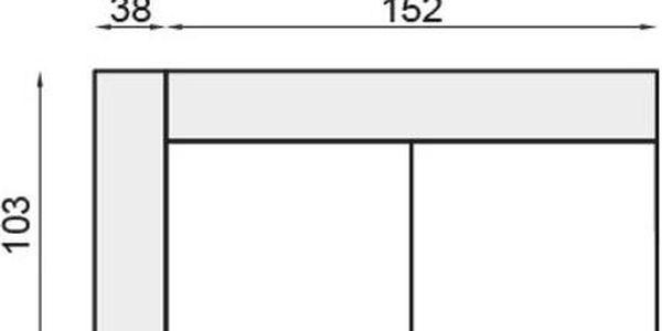 SC3BF Rozkládací s jedním bokem SCANDI