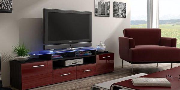 Stylová komoda pod televizor/rádio EVORA 11