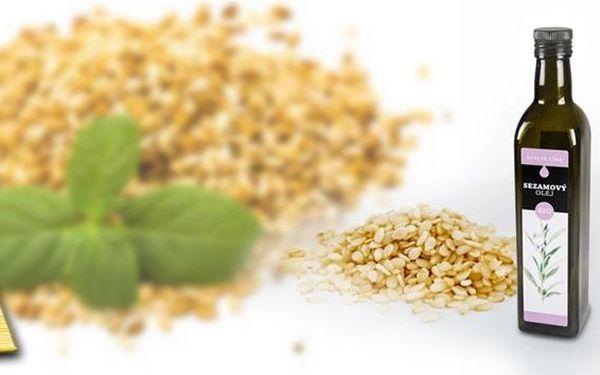 BIO panenský sezamový olej