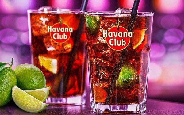 2 osvěžující drinky Cuba Libre