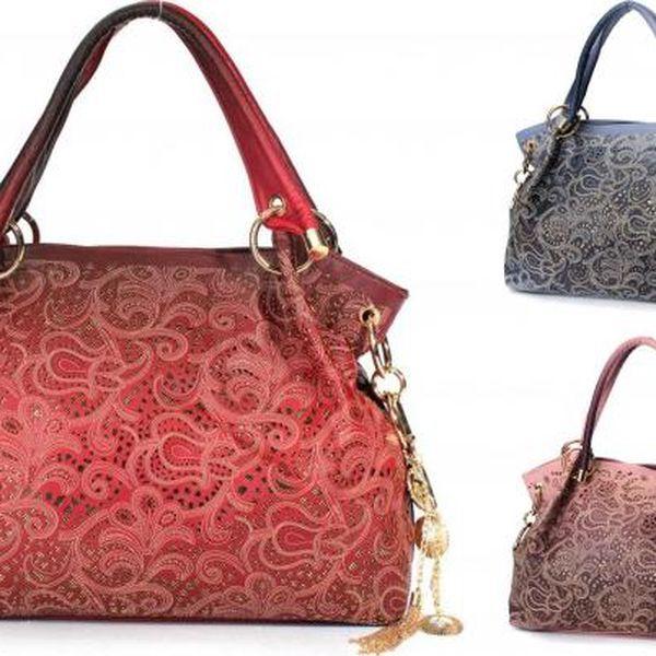 Dámská kabelka s ornamenty a zdobením Adira