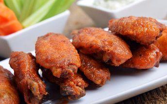 Pečené kuřecí křidélka v BBQ marinádě až pro 2 osoby