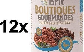 Brit Boutiques Gourmandes Duck Bits&Paté 12 x 400g