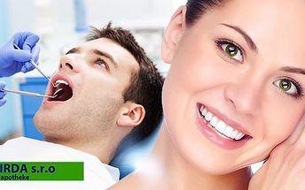 90min. ordinační bělení zubů SDI POLA Profesional! Nejrychlejší a zároveň nejbezpečnější forma bělení.