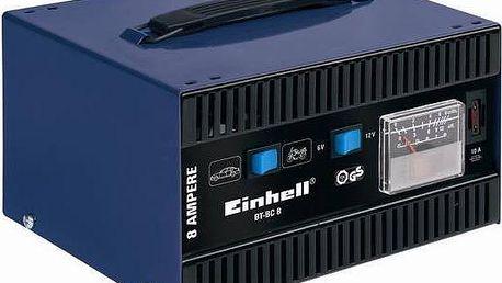 Nabíječka autobaterií Einhell Blue BT-BC 8 Blue